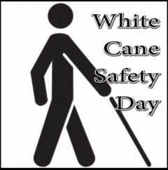 White Cane Safety Day 2017
