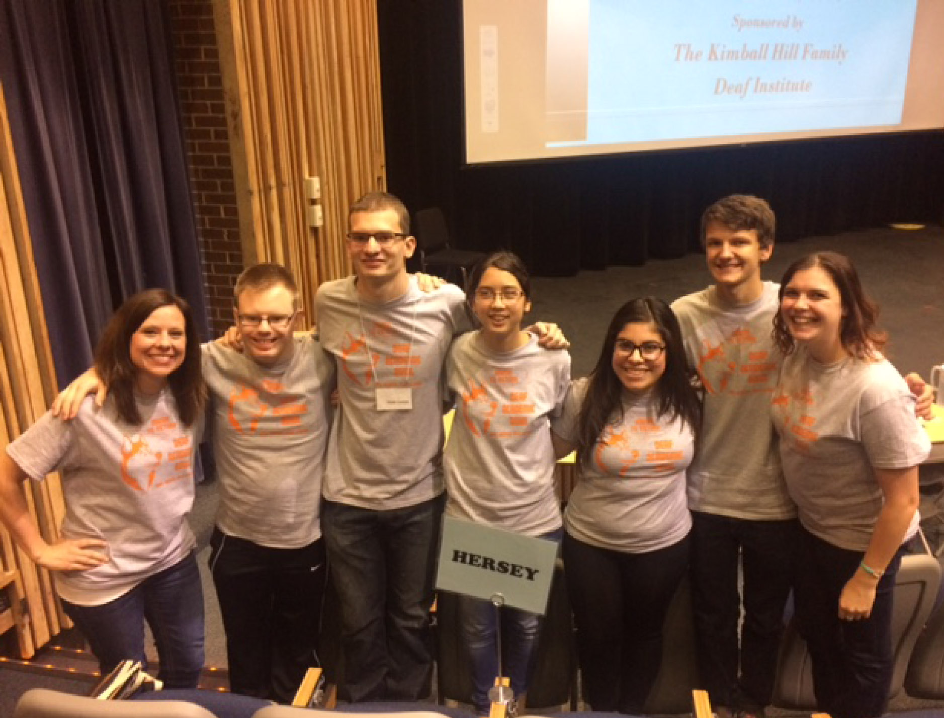 Hersey Students of the Deaf Academic Bowl Team Compete at Harper College
